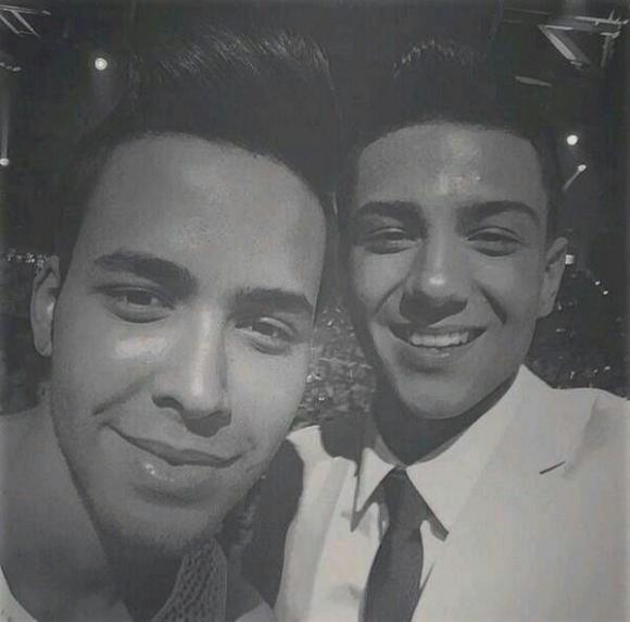 Prince Royce & Luis Coronel at Event Center Arena
