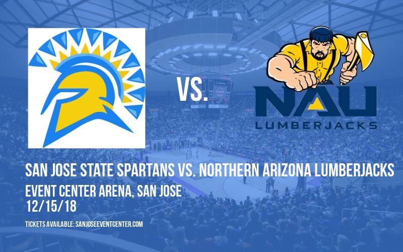 San Jose State Spartans vs. Northern Arizona Lumberjacks at Event Center Arena