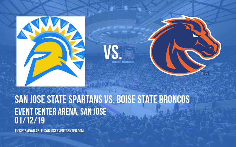 San Jose State Spartans vs. Boise State Broncos at Event Center Arena