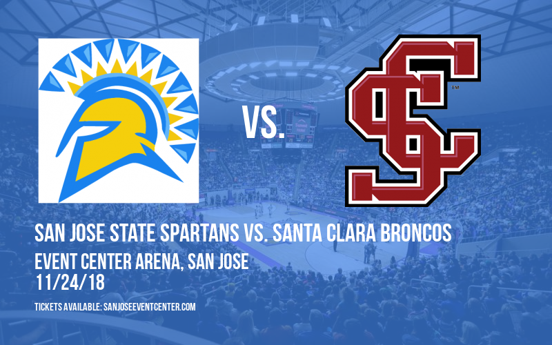 San Jose State Spartans vs. Santa Clara Broncos at Event Center Arena