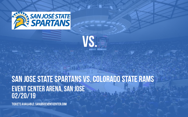 San Jose State Spartans vs. Colorado State Rams at Event Center Arena