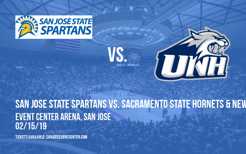 San Jose State Spartans vs. Sacramento State Hornets & New Hampshire Wildcats [WOMEN] at Event Center Arena