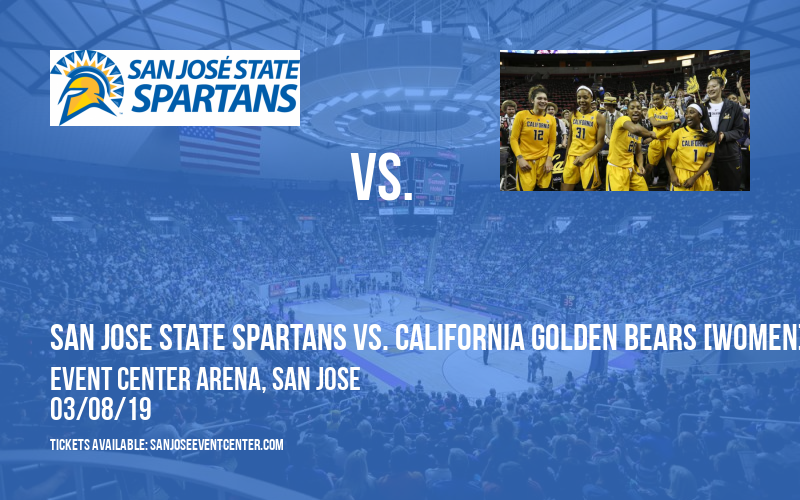 San Jose State Spartans vs. California Golden Bears [WOMEN] at Event Center Arena