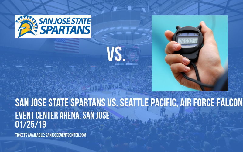 San Jose State Spartans vs. Seattle Pacific, Air Force Falcons & Alaska Anchorage Seawolves  [WOMEN] at Event Center Arena