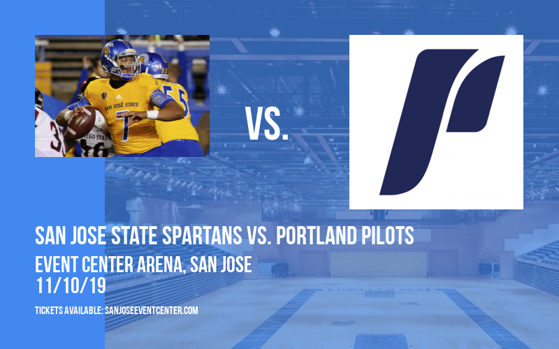 San Jose State Spartans vs. Portland Pilots at Event Center Arena