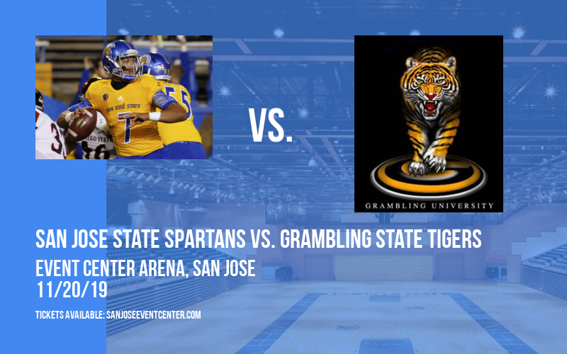 San Jose State Spartans vs. Grambling State Tigers at Event Center Arena