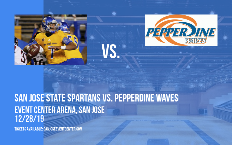 San Jose State Spartans vs. Pepperdine Waves at Event Center Arena