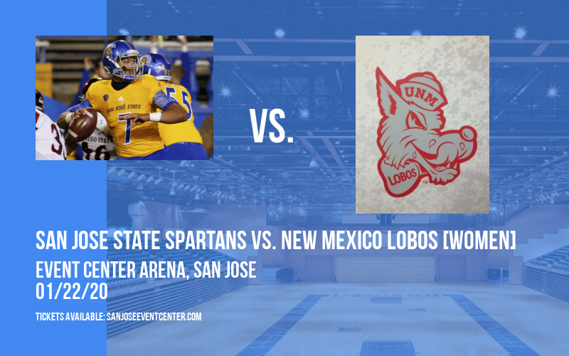 San Jose State Spartans vs. New Mexico Lobos [WOMEN] at Event Center Arena