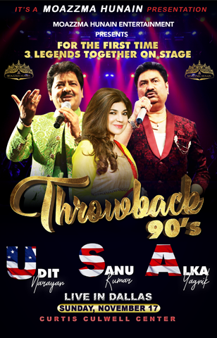 Throwback 90s: Udit Narayan, Alka Yagnik & Kumar Sanu at Event Center Arena