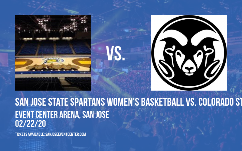 San Jose State Spartans Women's Basketball vs. Colorado State Rams at Event Center Arena